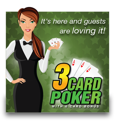 3 CARD POKER HAS ARRIVED!