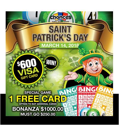 St. Patty's Day Bingo