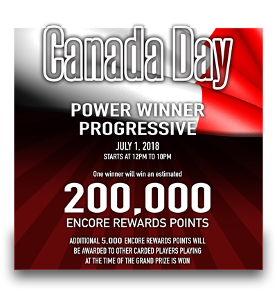 Canada Day Power Winner