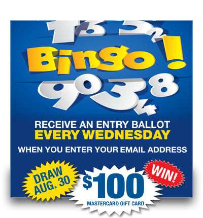 Bingo – Newsletter Draw