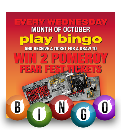 Play Bingo – Win FEAR FEST Tickets!