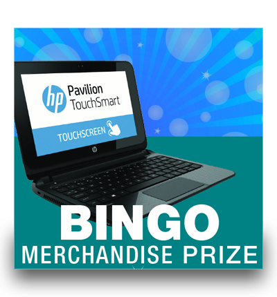 Bingo Merchandise Prize – OCTOBER