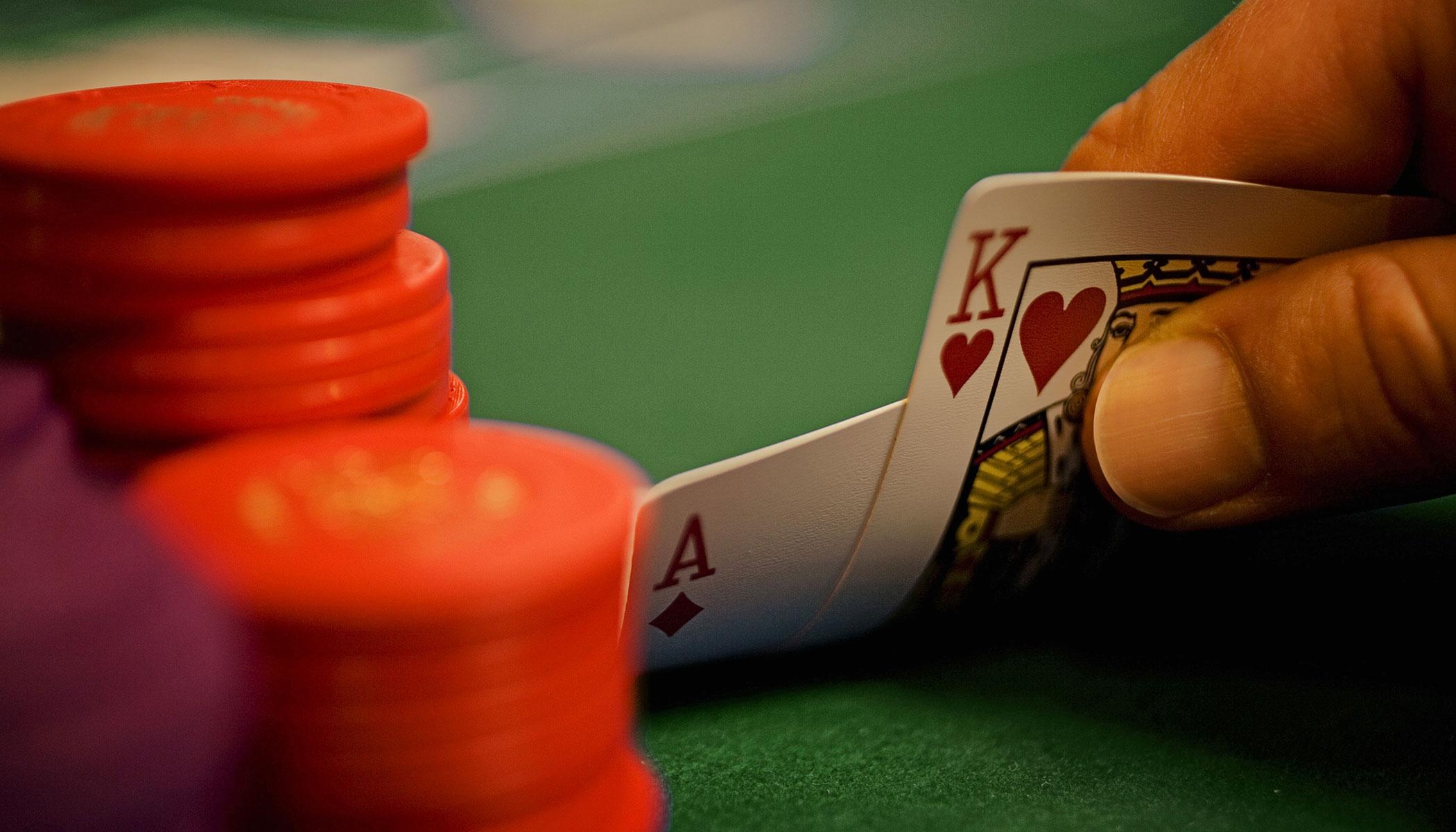 Blackjack table wallpaper - Blackjack