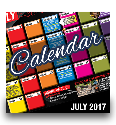 July 2017 Events Calendar