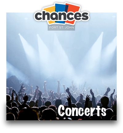 Chances Concerts Listings