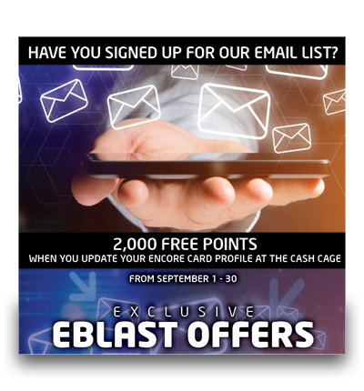 Email Signup Offer
