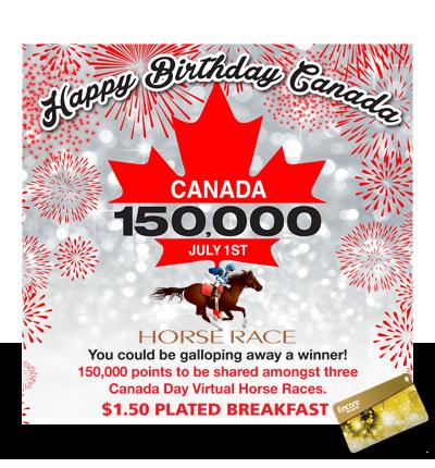 Virtual Horse Race – July 1st