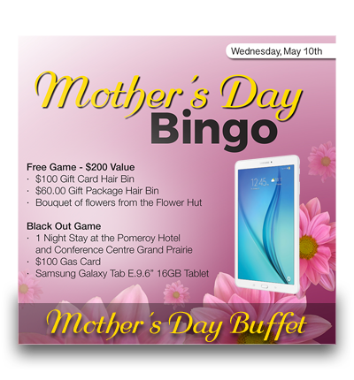 Mother's Day Bingo & Buffet
