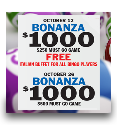 Bingo Bonanza in October