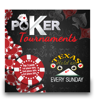 Poker Tournaments – 2017 Calendar