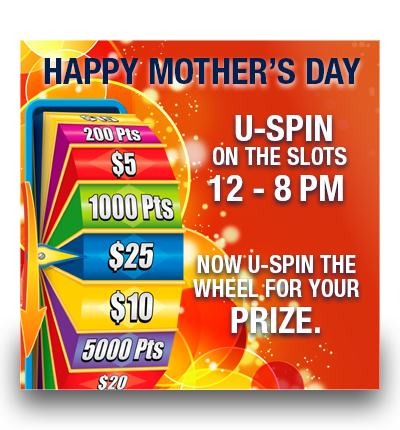 U-SPIN on Mother's Day!