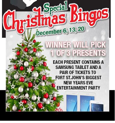 Special Christmas Bingo