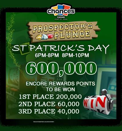Prospectors Plunge St Patrick's Day