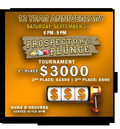 12 Anniversary Slot Tournaments