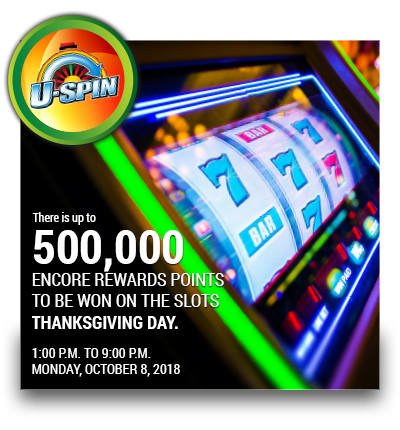 U-SPIN 500,000 Encore Points