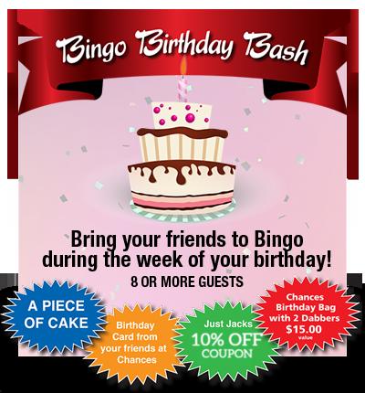 Bingo Birthday Bash!