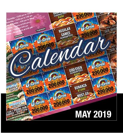 Calendar May 2019