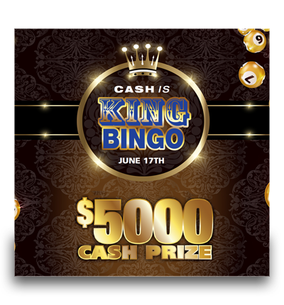 Cash is King Bingo!